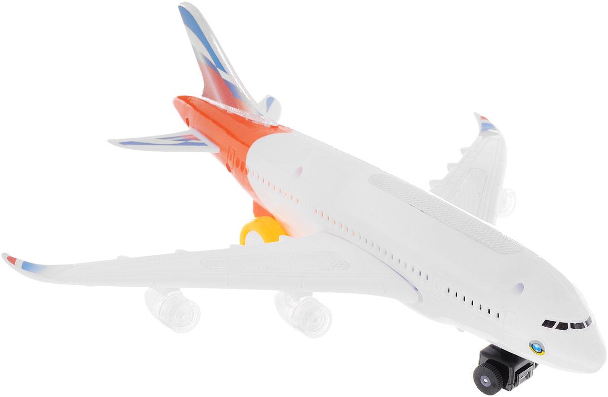 ABtoys Самолет цвет белый оранжевый