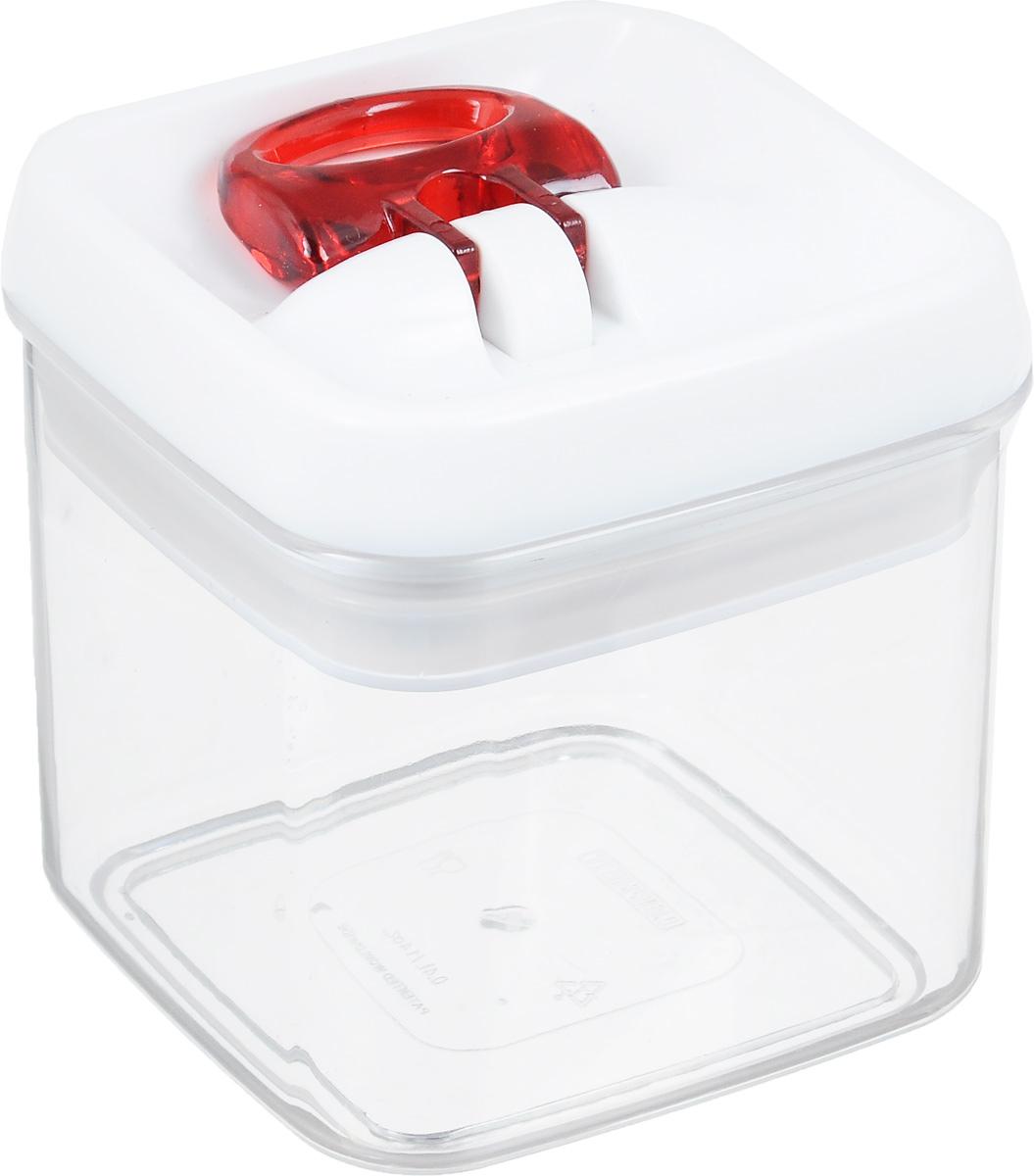Контейнер для сыпучих продуктов Leifheit Fresh&Easy, 0,4 л31207Контейнер Leifheit Fresh&Easy, изготовленный из прочного пластика, предназначен для хранения сыпучих продуктов, например, макаронных изделий, орехов. Имеет воздухонепроницаемый и водонепроницаемый запор для оптимального хранения ваших сухих продуктов. Крышка открывается одной рукой.Емкость контейнера (без крышки) можно мыть в посудомоечной машине.Размер контейнера (с учетом крышки): 10 х 10 х 10 см.