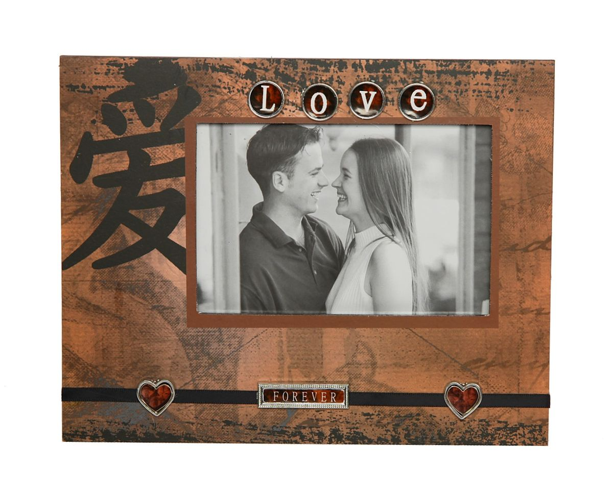 Фоторамка HomeMaster Любовь, декорированная, 24 х 19 х 2 см. JX-Z011 вешалка напольная homemaster телескопическая 79 х 42 см высота 93 160 см