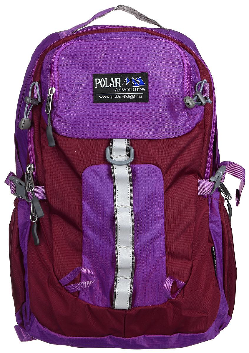 Рюкзак городской Polar, 18 л, цвет: фиолетовый. П2170-12 стилус polar pp001
