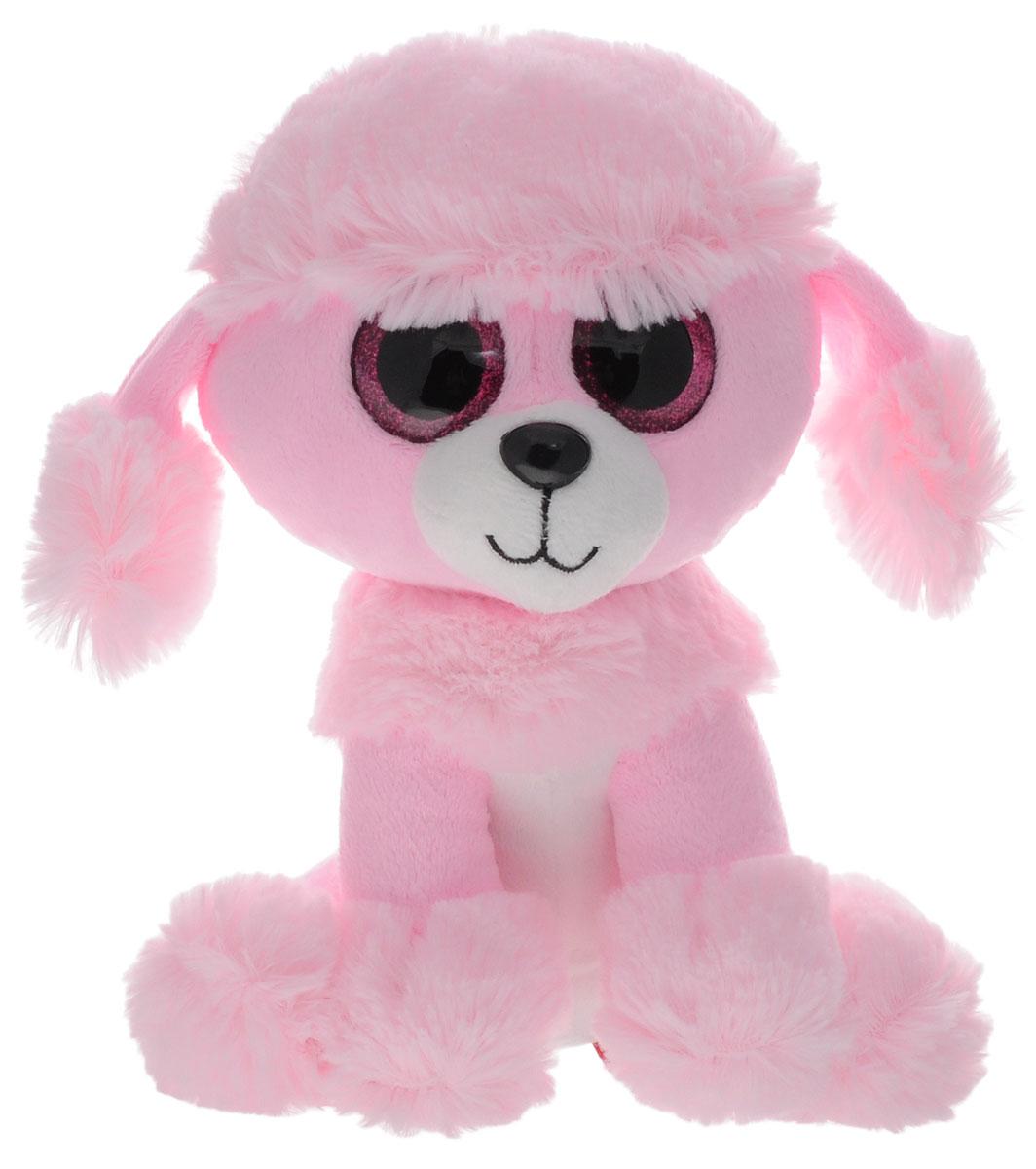 Fancy Мягкая игрушка Пудель Глазастик 22 см fancy мягкая игрушка собака эля 14 5 см