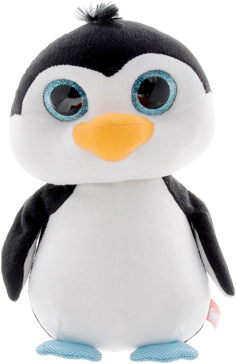 Fancy Мягкая игрушка Пингвин Глазастик 22 см fancy мягкая игрушка собака эля 14 5 см