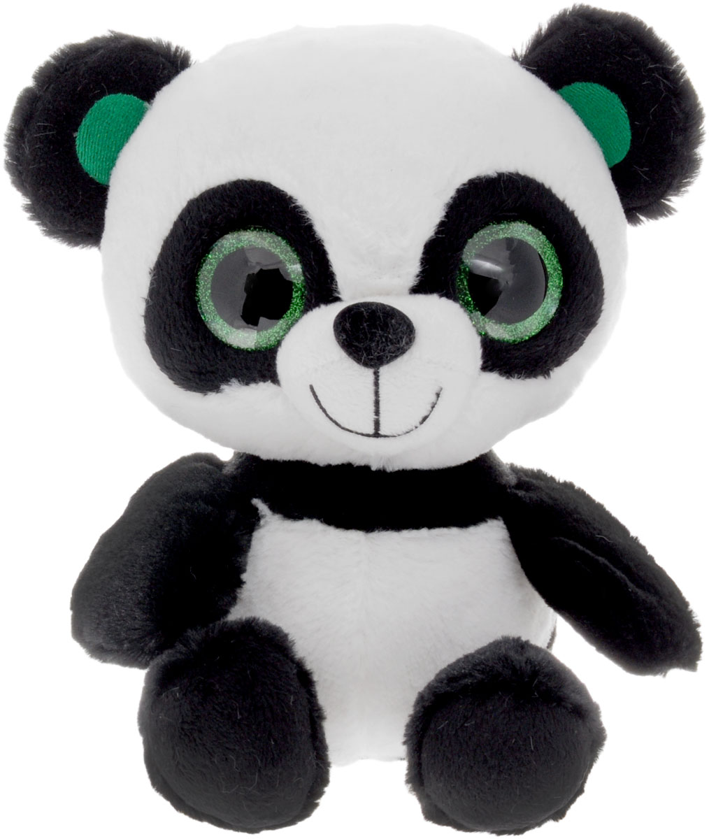 Fancy Мягкая игрушка Панда Глазастик 25 см fancy мягкая игрушка собака соня 70 см