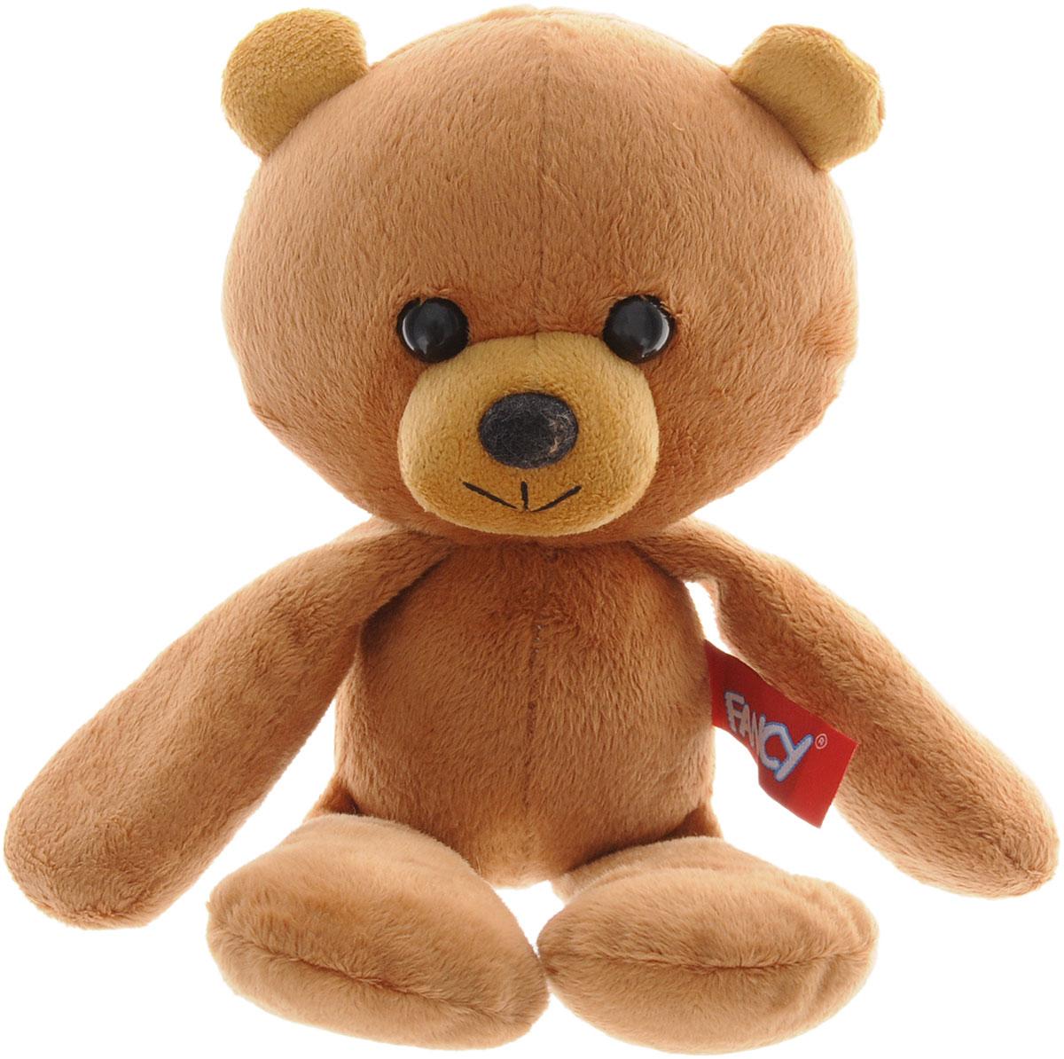 Fancy Мягкая игрушка Мишка Бобо 26 см fancy мягкая игрушка собака эля 14 5 см