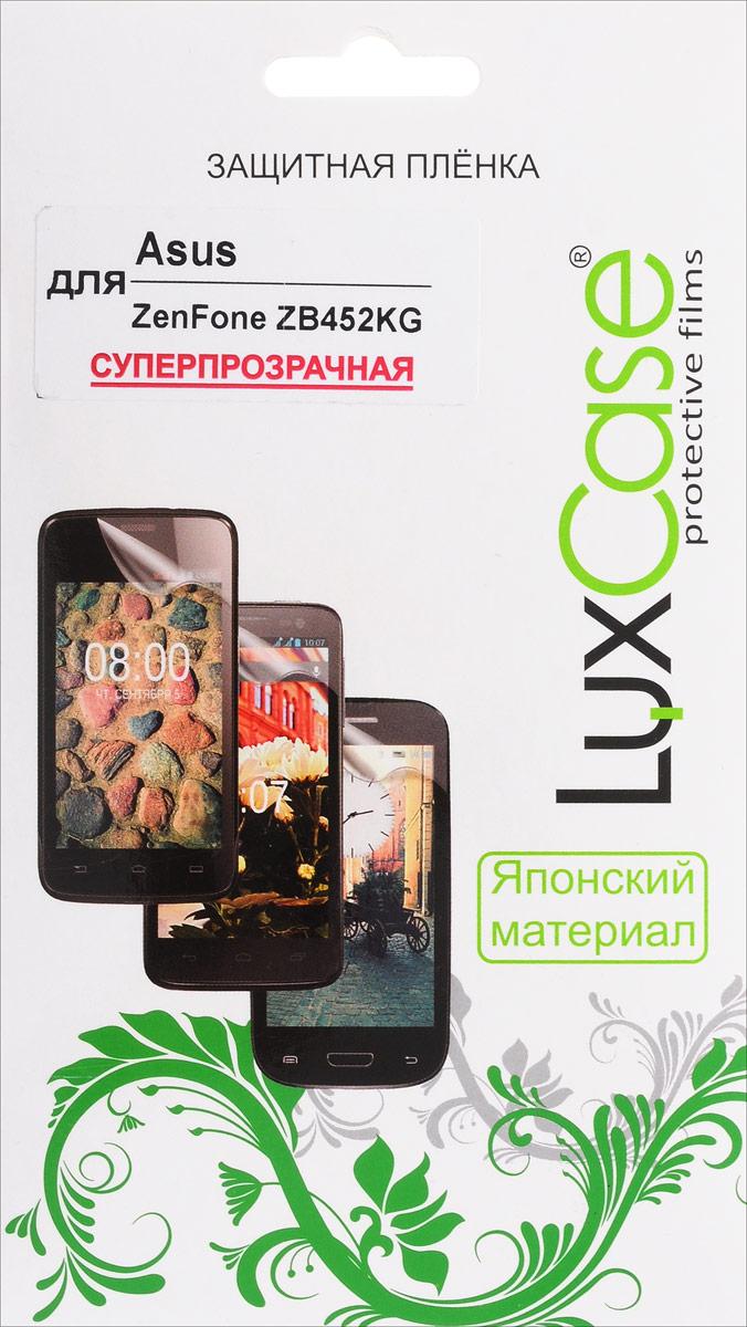 LuxCase защитная пленка для Asus ZenFone ZB452KG, суперпрозрачная51779Защитная пленка LuxCase для Asus ZenFone ZB452KG сохраняет экран смартфона гладким и предотвращает появление на нем царапин и потертостей. Структура пленки позволяет ей плотно удерживаться без помощи клеевых составов и выравнивать поверхность при небольших механических воздействиях. Пленка практически незаметна на экране смартфона и сохраняет все характеристики цветопередачи и чувствительности сенсора.