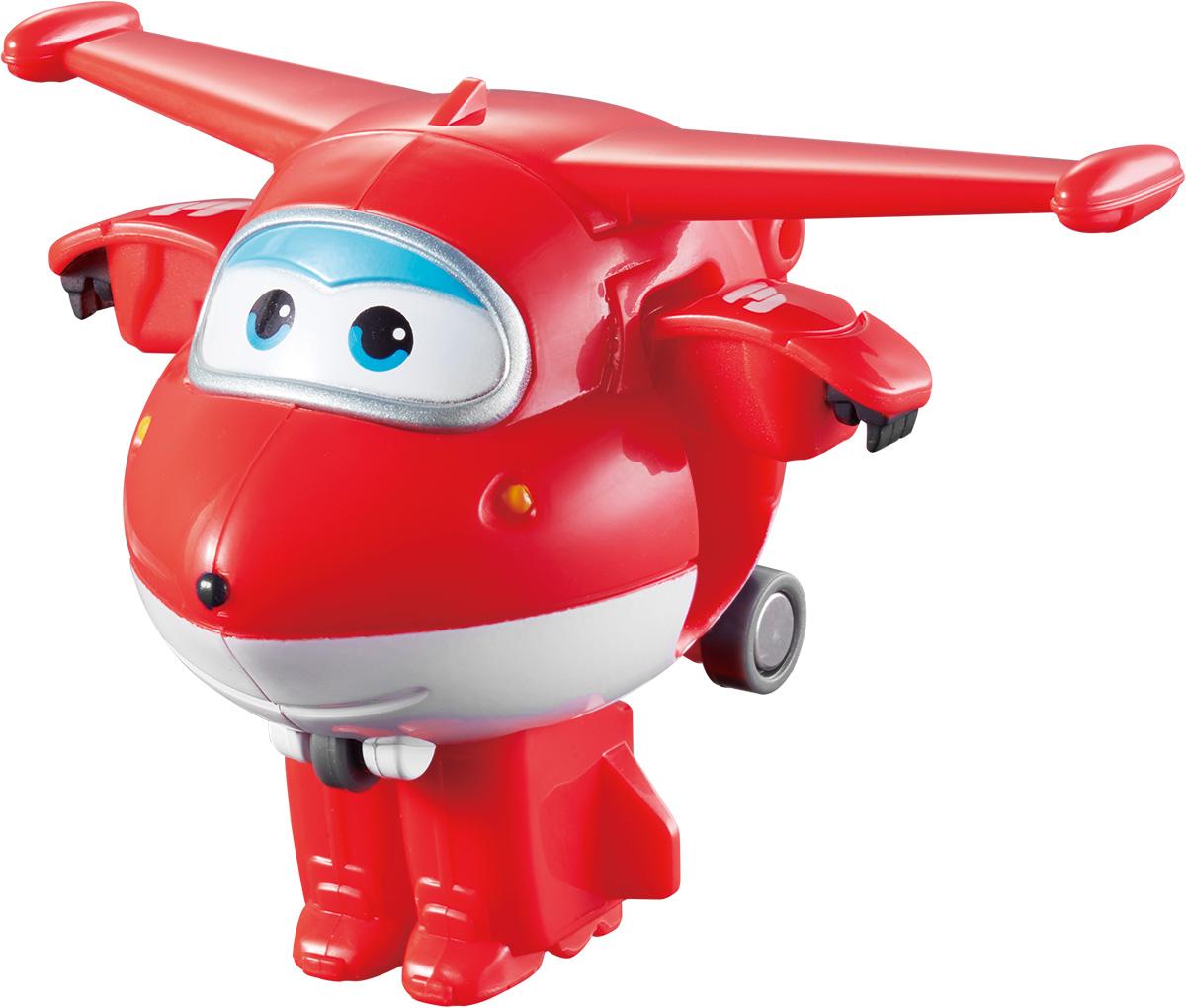 Super Wings Трансформер Джетт YW710010 самолеты и вертолеты super wings игровой набор мастерская донни