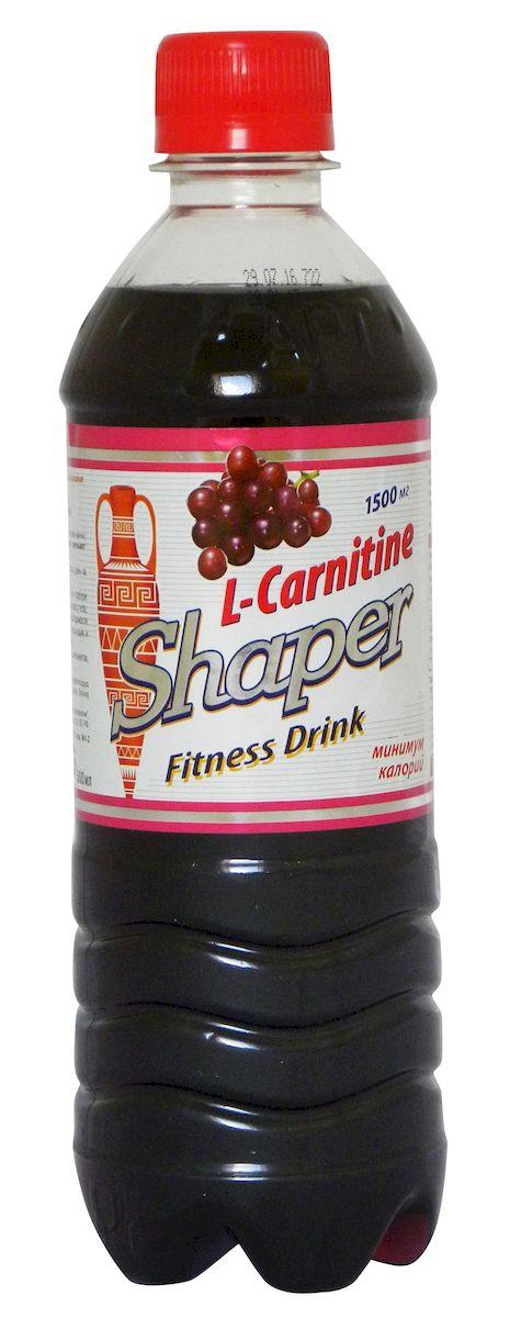 """Shaper """"L-Carnitine. Fitness Drink"""" - низкокалорийный, негазированный освежающий напиток с эффектом жиросжигания. Напиток не содержит """"пустых"""" калорий, """"подкачивает"""" энергией за счет лишних жиров и эффективно освежает. Липотропный (жиросжигающий) эффект L-карнитина обоснован научно и подтвержден многочисленными исследованиями. L-карнитин улучшает обмен веществ и благоприятен для работы сердца.Энергетическая ценность: 7 ккал.Состав: 1500 мг L-карнитина.Товар сертифицирован.  Как повысить эффективность тренировок с помощью спортивного питания? Статья OZON Гид"""