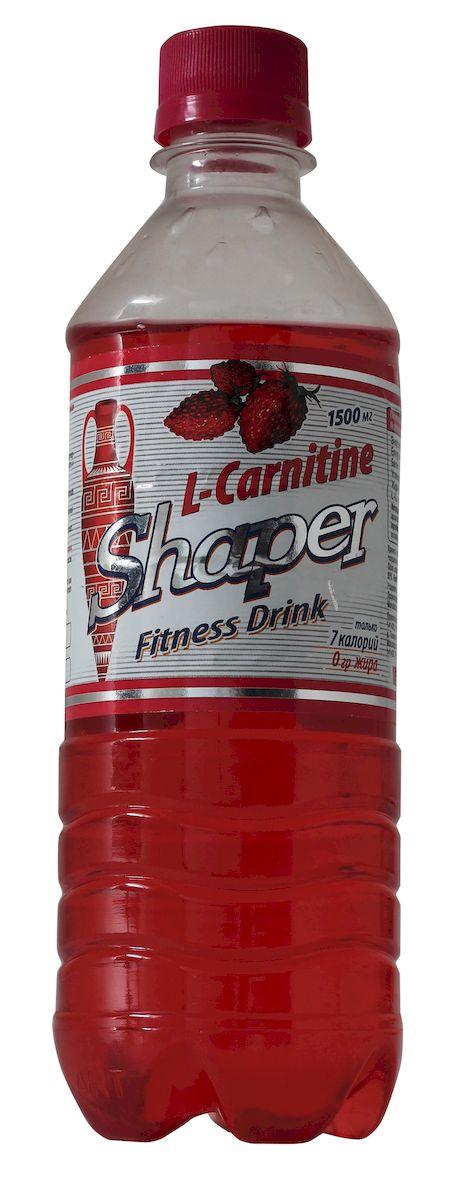 Жиросжигатель Shaper L-Carnitine. Fitness Drink, земляника, 0,5 л vp laboratory vp laboratory fitactive l carnitine fitness drink 500гр page 2