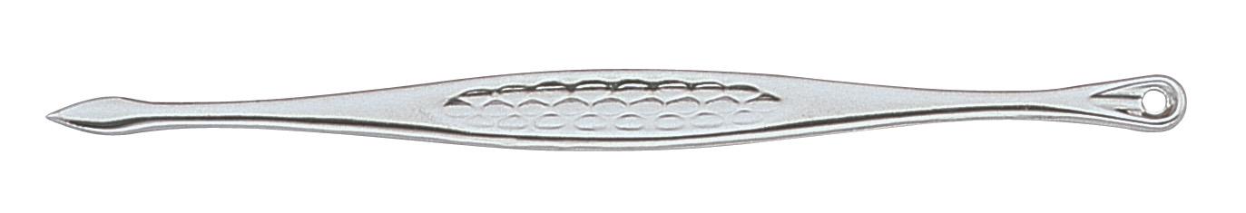 Becker-Manicure YES Палочка для удаления угрей. 9670196701Палочка для удаления угрей изготовлена из высокоуглеродистой нержавеющей стали. Длина палочки 11 см.Хранить в сухом недоступном для детей месте.Срок годности не ограничен.Замена изделия не осуществляется в следующих случаях:- Использование не по назначению- Самостоятельный ремонт- Нарушение условий хранения