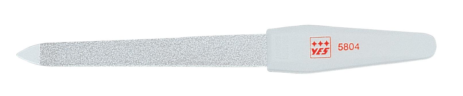 Becker-Manicure YES Пилочка 13см. 9580495804Пилочка для ногтей изготовлена из высокоуглеродистой стали. Пилочка имеет двухстороннее сапфировое напыление: более крупное с одной стороны для формирования формы и мелкое с другой для завершения шлифовки ногтя. Длина пилочки 13 см. В блистерной упаковке.Хранить в сухом недоступном для детей месте. Замена изделия не осуществляется в следующих случаях:- Использование не по назначению- Самостоятельный ремонт- Нарушение условий хранения