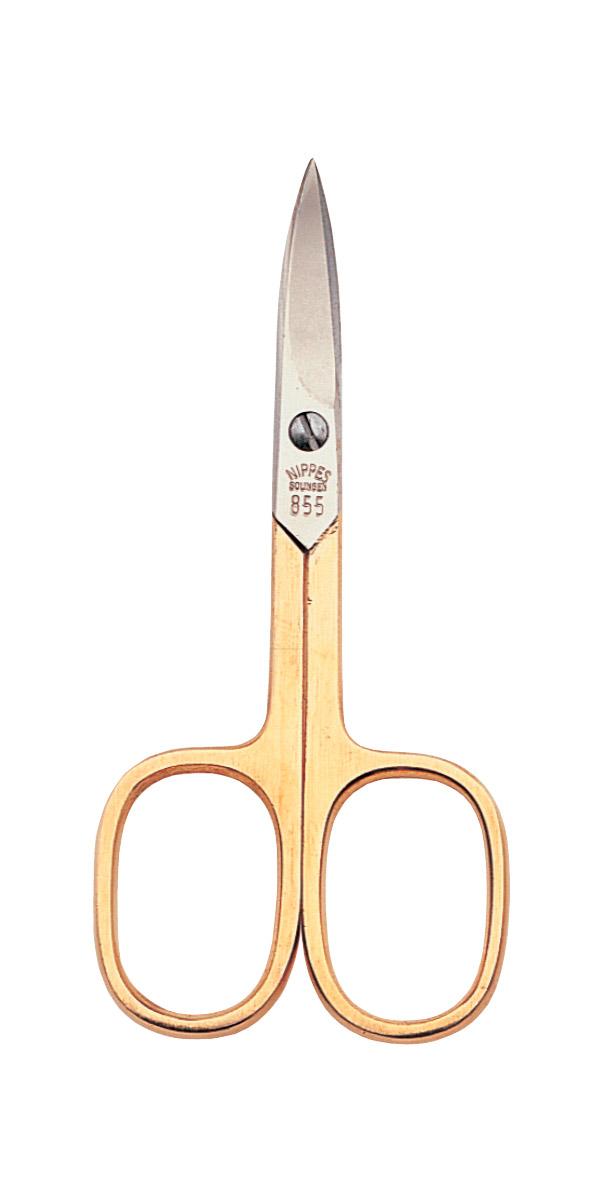 Nippes Ножницы маникюрные для ногтей 9 см. 855