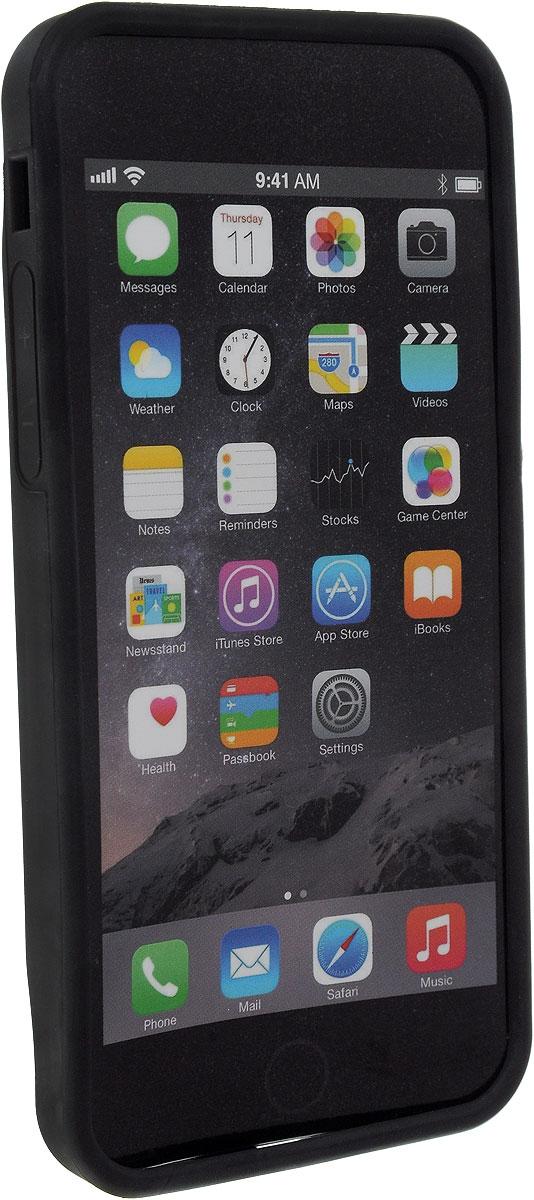 Чехол для iPhone 6 BiKase GoKASE, 14,4 х 6,9 х 1,2 смPN1037Чехол BiKase GoKASE позволяет носить с собой смартфон на велосипедных прогулках. Устанавливается на руль при помощи съемного пластикового крепления. Чехол выполнен из высококачественного термопластика.