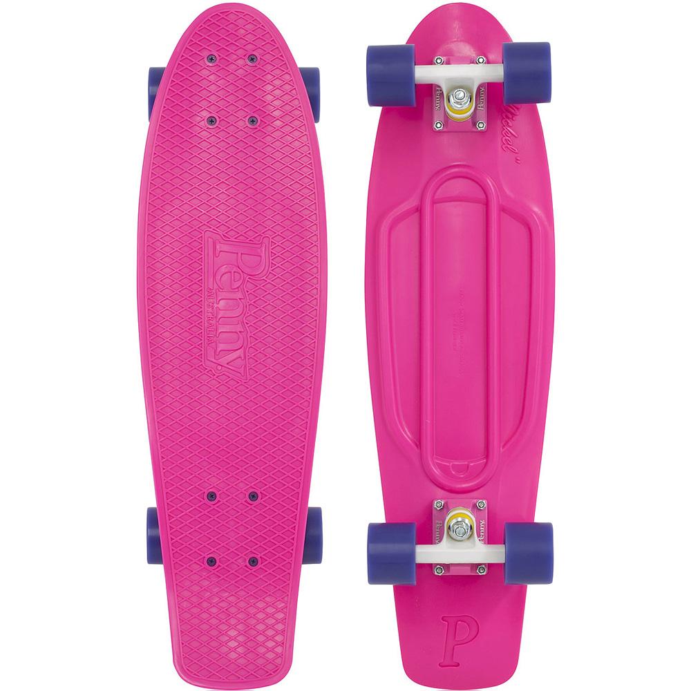 Пенни борд Penny Nickel, цвет: розовый, фиолетовый, дека 69 х 19 см пенни борд фото для девочек