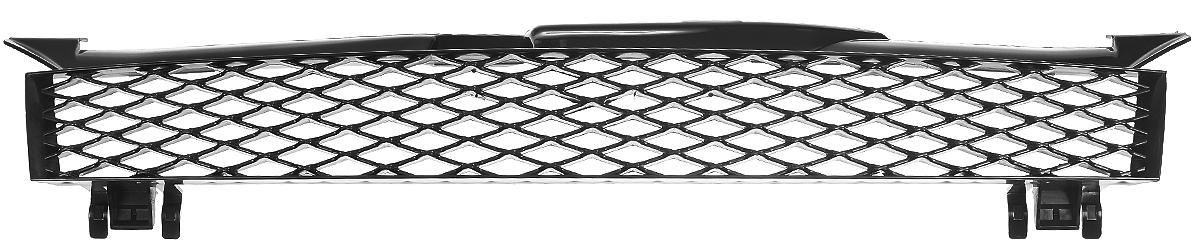 Тюнинг-решетка радиатора Azard Бриллиант, для LADA KalinaRR0191KLТюнинг-решетка радиатора Azard Бриллиант изготовлена из противоударного пластика. Она позволяет защитить радиатор от попадания на него крупных насекомых и камней во время скоростного движения по трассе. Современный и оригинальный дизайн делает решетку стильным украшением автомобиля. Устойчива к сколам, трещинам и низким температурам.Изделие легко и быстро устанавливается на корпус автомобиля. Поверхность можно окрасить в нужный оттенок.В комплект входит инструкция по установке.