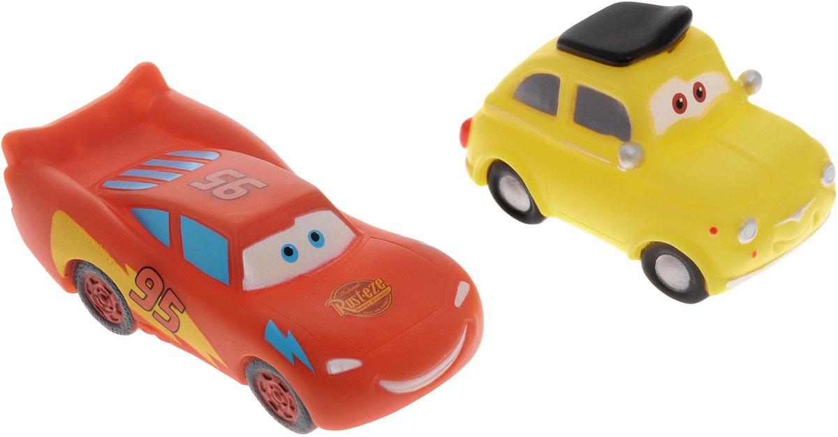 Играем вместе Набор игрушек для ванной Тачки цвет оранжевый желтый 2 шт играем вместе набор игрушек для ванной корабль и самолет