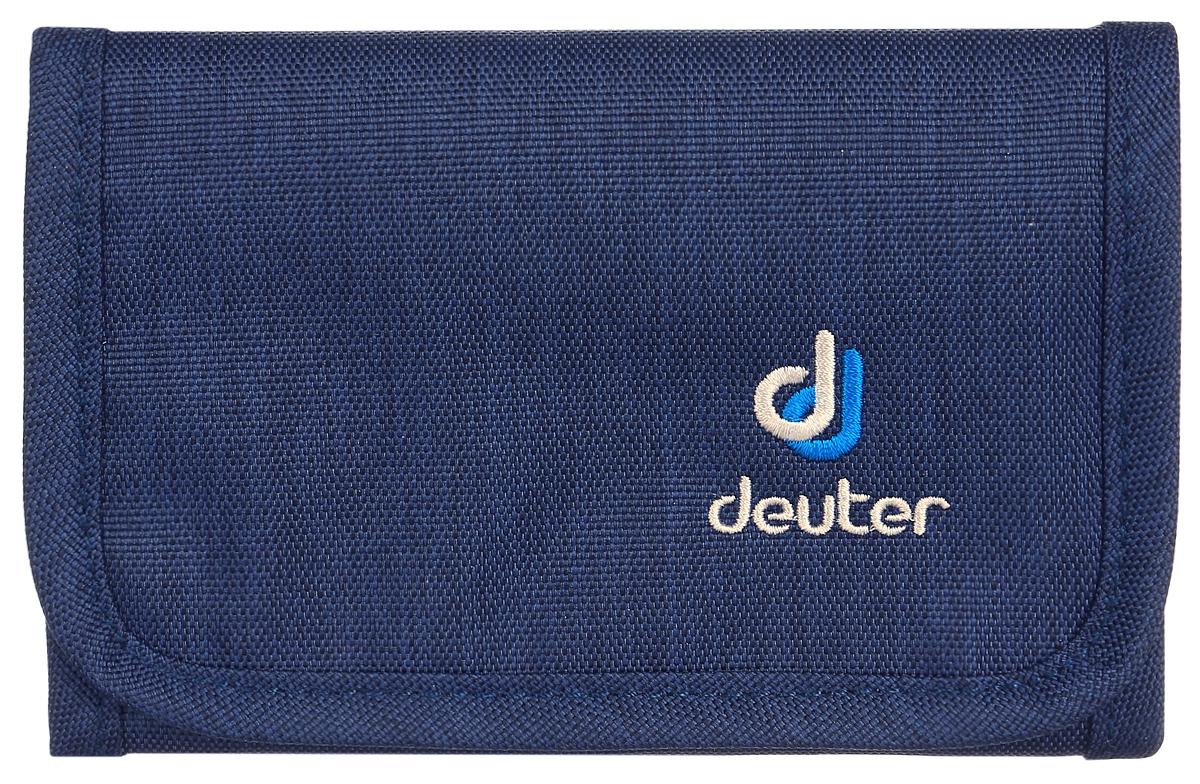 Кошелек Deuter Travel Wallet, цвет: темно-синий, синий кошелек deuter deuter zip wallet черный