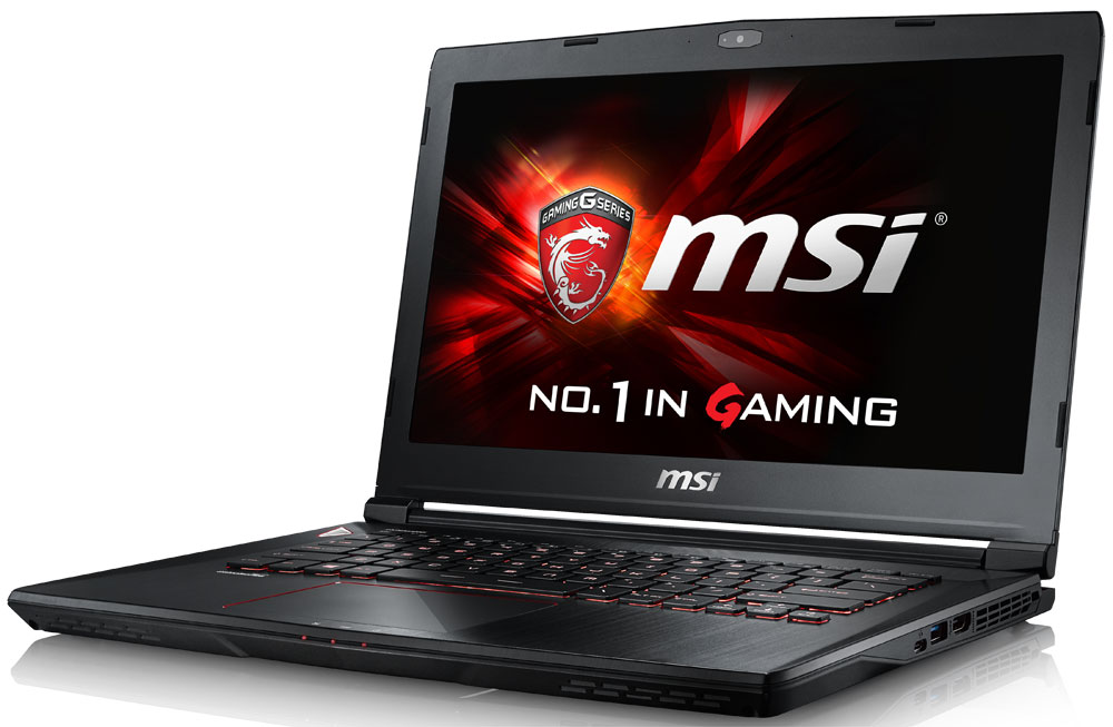 MSI GS40 6QE-234RU Phantom, Black