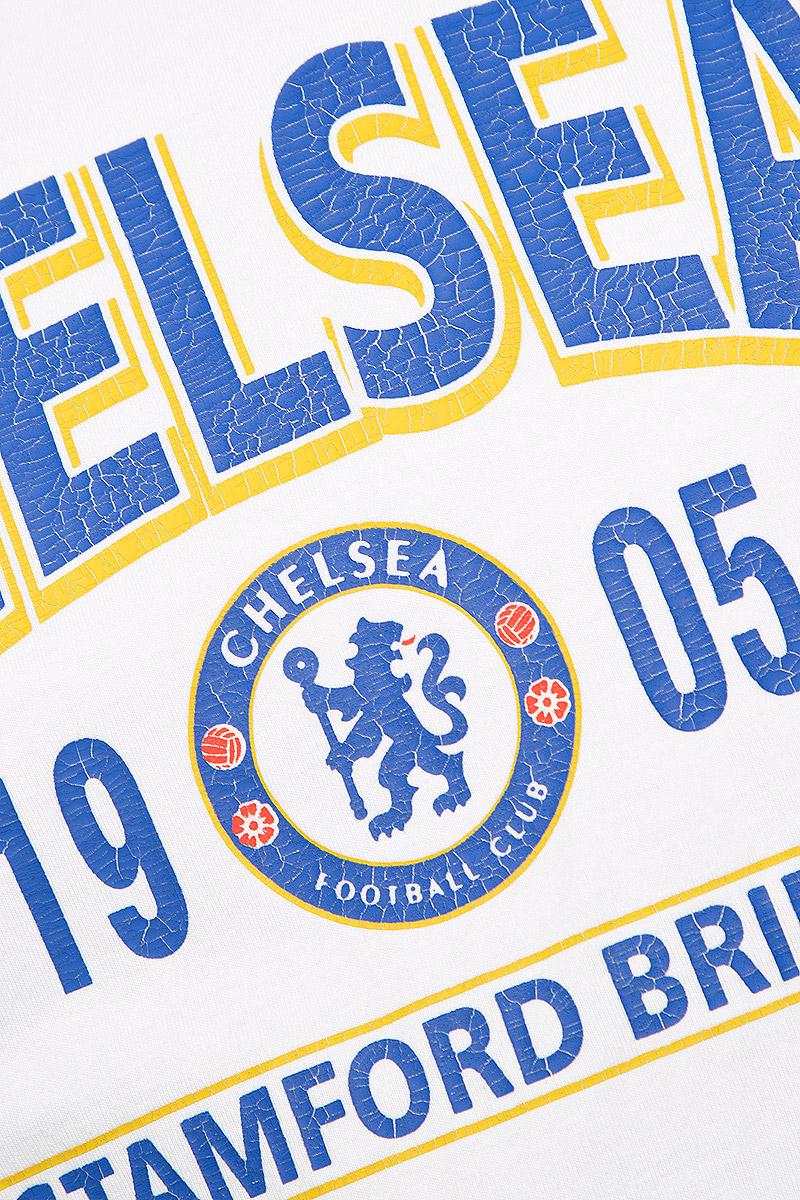 Футболка мужская Chelsea, цвет:  белый.  8730.  Размер XS (44) Chelsea