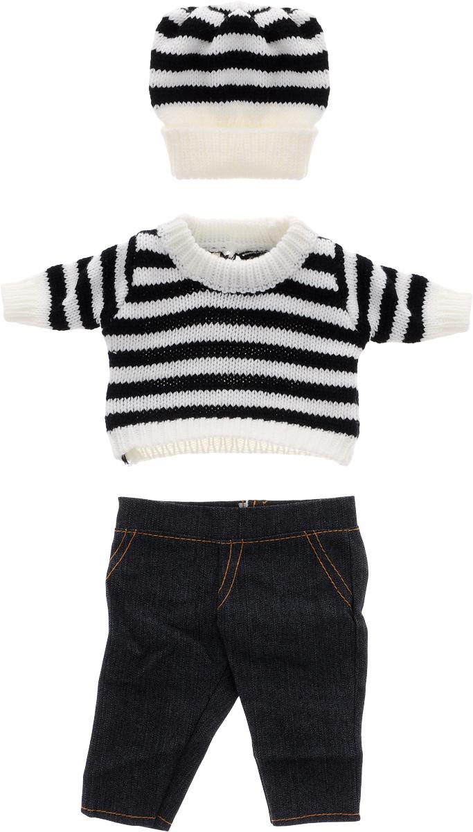 Junfa Toys Шапочка кофточка и штаны для кукол Baby Love