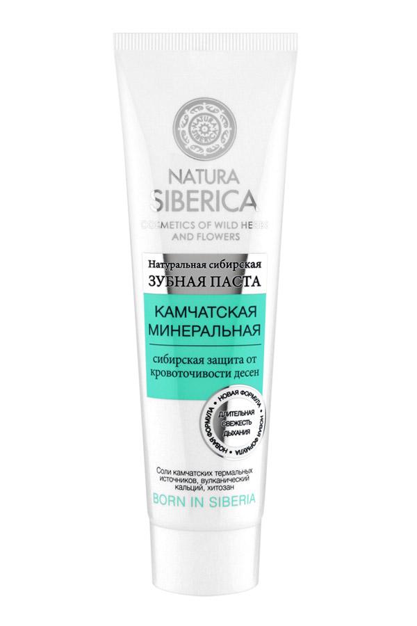 Natura Siberica зубная паста Камчатская минеральная 100 гр natura siberica зубная паста арктическая защита 100 гр