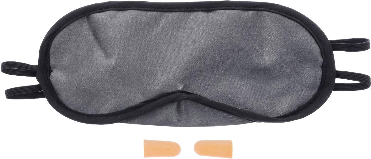 Набор для сна Мультидом, цвет серый, черный, 3 предметаWD-84-98_серый, черныйВ набор Мультидом входят маска для сна и одна пара берушей. Удобная маска для сна, выполненная из полиэстера, поможет сохранить ваш сон даже при ярком дневном свете. Незаменима при длительных поездках и перелетах. Маска снабжена эластичной резинкой. Изделие подойдет для любого размера головы. Беруши, выполненные из вспененного поливинилхлорида, изолируют от внешнего шума и помогают снять напряжение.Набор для сна поможет вам поддержать красоту и отдохнуть, поспать в непривычных илинекомфортных условиях.Размер маски: 20 х 9,5 см.Длина берушей: 2,5 см.