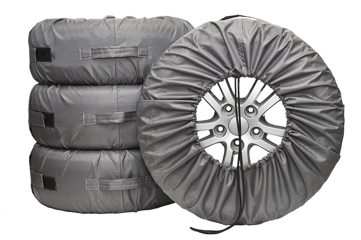 Чехлы для хранения автомобильных колес AvtoTink  Стандарт , от 13  до 17 , 4 шт - Шины и диски - Шинные принадлежности