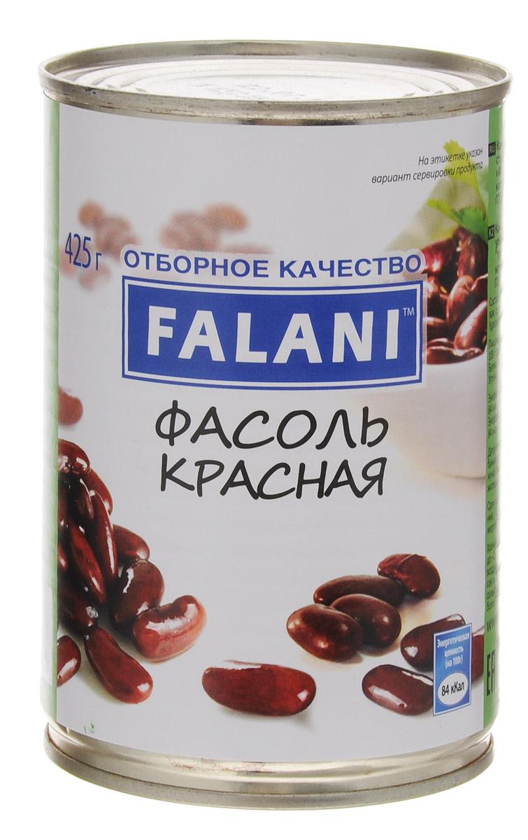 FALANI фасоль красная, 425 г мистраль фасоль белая пестрая черный глаз 450 г