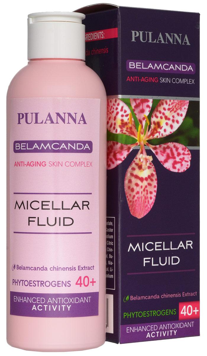 Pulanna Мицеллярная вода на основе беламканды - Micellar Fluid 200 мл