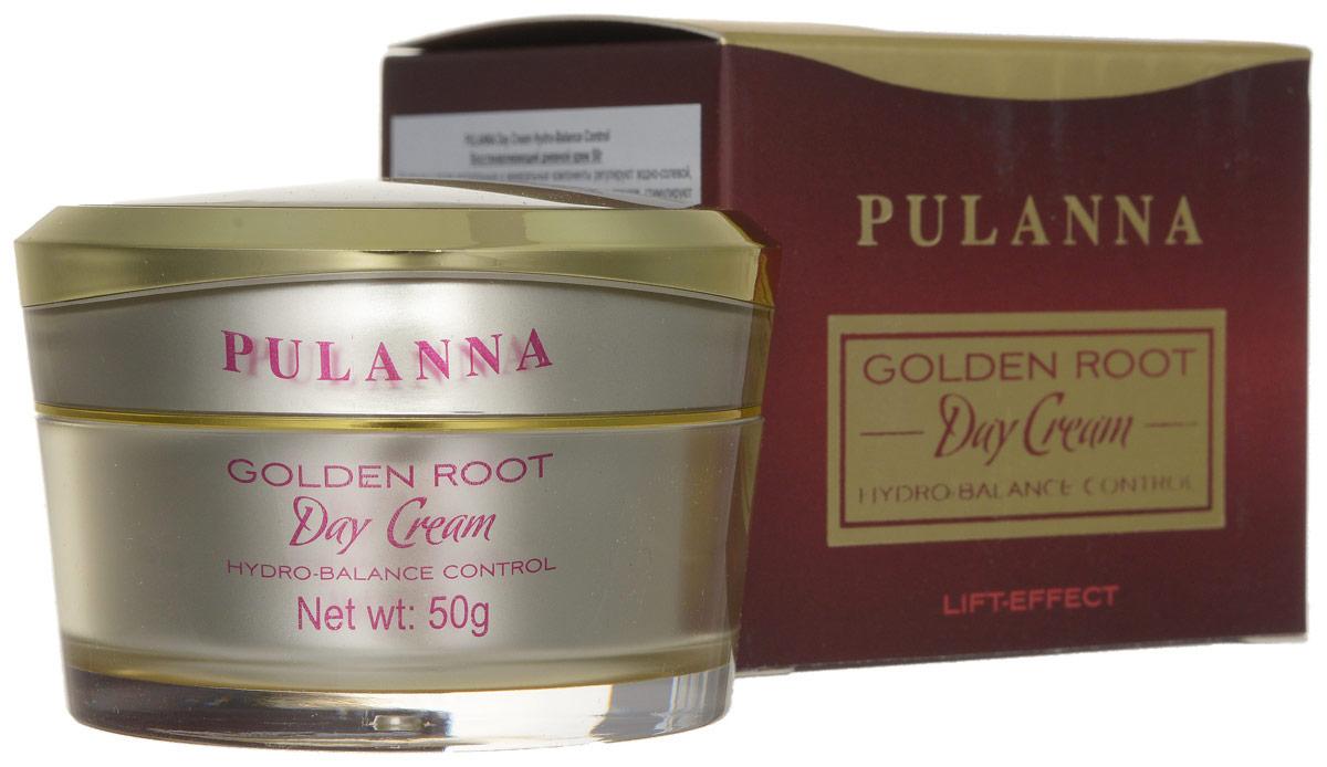 Pulanna Восстанавливающий дневной крем на основе золотого корня - Day Cream Hydro-Balance Control 50 г5902596005788Входящие в состав растительные и минеральные компоненты регулируют водно-солевой, белковый баланс, стимулируют кровообращение, укрепляют стенки сосудов, стимулируют выработку собственного коллагена. Крем придает коже жизненную силу, активно питает, стимулирует ее восстановительные процессы. Тонизирует, стимулирует обновление клеток эпидермиса, повышает кожный иммунитет. Обладает выраженным лифтинговым эффектом. Содержит природные фотофильты. Идеальная основа под макияж.Рекомендуется в качестве основного ухода с 40 лет, в качестве интенсивного восстановления с 35 лет курсами (28-30 дней).
