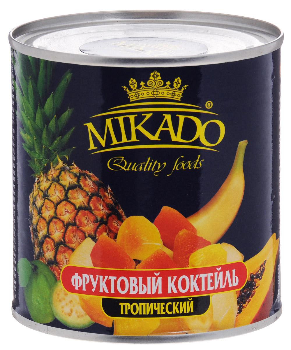 Mikado фруктовый коктейль тропический, 425 мл mikado almaz pilk 240