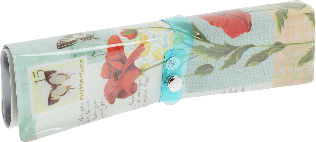 Пенал-органайзер для мелочей Феникс-Презент Бабочки, 25 х 20 см пеналы magic home пенал органайзер бабочки