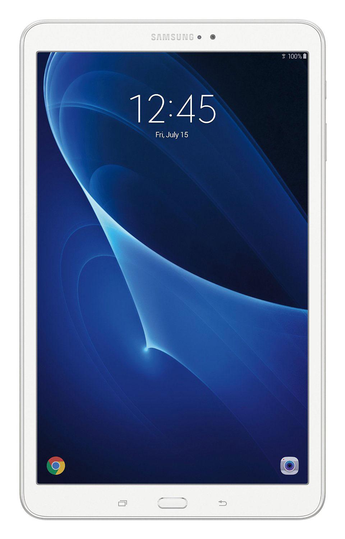 Samsung Galaxy Tab A 10.1 SM-T580, WhiteSM-T580NZWASERПланшетный компьютер Samsung Galaxy Tab A 10.1 привлекает своей компактностью в сочетании с производительностью.В тонком корпусе с классическим дизайном уместилась достойная начинка: восьмиядерный процессор Samsung Exynos 7 Octa 7870 с тактовой частотой 1,6 ГГц и 2 ГБ оперативной памяти. За качественное изображение отвечает яркий и сочный 10-дюймовый экран с разрешением 1920x1200.Удобный размер планшета позволяет использовать его с одинаковым комфортом и для чтения книг, и для интернет-серфинга, и для развлечений.Точная автофокусировка помогает основной камере 8 Мпикс справиться со съемкой движущихся предметов и получить четкий снимок. Фронтальная камера 2 Мпикс придет на помощь, если нужно сделать автопортрет.Данная модель одинаково подходит как для взрослых, так и для детей. Встроенный таймер ограничивает время, проведенное ребенком за планшетом, а разнообразный увлекательный и образовательный контент поможет малышу провести время с пользой.Встроенный аккумулятор 7300 мАч, подзаряжаемый через microUSB, по заявлению производителя способен обеспечить стабильную работу в течение дня, это примерно 10 часов.Планшет сертифицирован EAC и имеет русифицированный интерфейс, меню и Руководство пользователя.