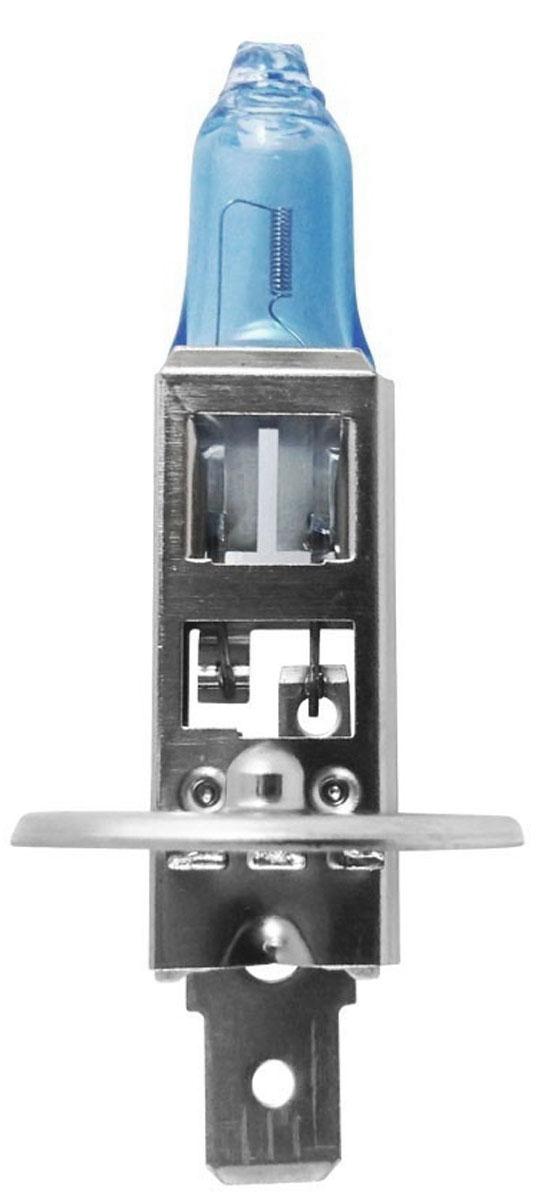 Лампа автомобильная галогенная Philips CrystalVision, для фар, цоколь H1 (P14,5s), 12V, 55W12258CVB1 (бл.)Автомобильная галогенная лампа Philips CrystalVision произведена из запатентованного кварцевого стекла с УФ фильтром Philips Quartz Glass. Кварцевое стекло Philips в отличие от обычного твердого стекла выдерживает гораздо большее давление смеси газов внутри колбы, что препятствует быстрому испарению вольфрама с нити накаливания. Кварцевое стекло выдерживает большой перепад температур, при попадании влаги на работающую лампу изделие не взрывается и продолжает работать. Лампы Philips CrystalVision имеют мощный белый свет с цветовой температурой 4300К. Разработаны для водителей, которым необходимо яркое освещение на дороге и важен индивидуальный стиль. Увеличенная светоотдача позволяет гораздо лучше различать дорожные знаки и препятствия. Лампы подходят для всех погодных условий, особенно ощутимый визуальный комфорт при поездках в ночное время. Автомобильные галогенные лампы Philips удовлетворят все нужды автомобилистов: дальний свет, ближний свет, передние противотуманные фары, передние и боковые указатели поворота, задние указатели поворота, стоп-сигналы, фонари заднего хода, задние противотуманные фонари, освещение номерного знака, задние габаритные/стояночные фонари, освещение салона.