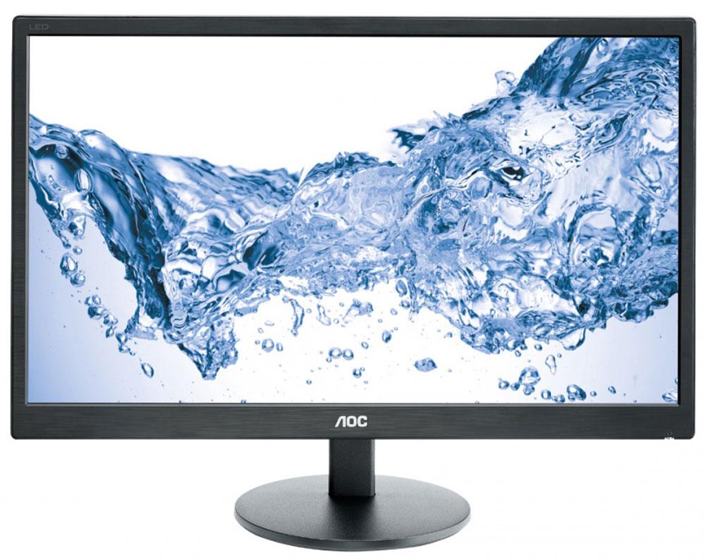 AOC E2470SWH, Black монитор