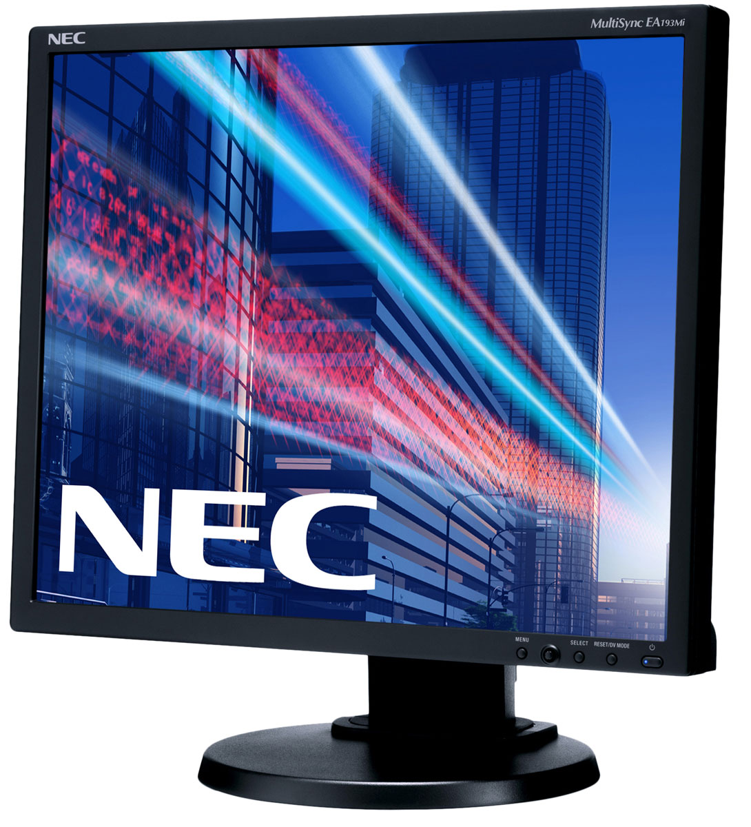 NEC EA193Mi-BK, Black монитор монитор nec 30 еа305wmi черный ea305wmi bk