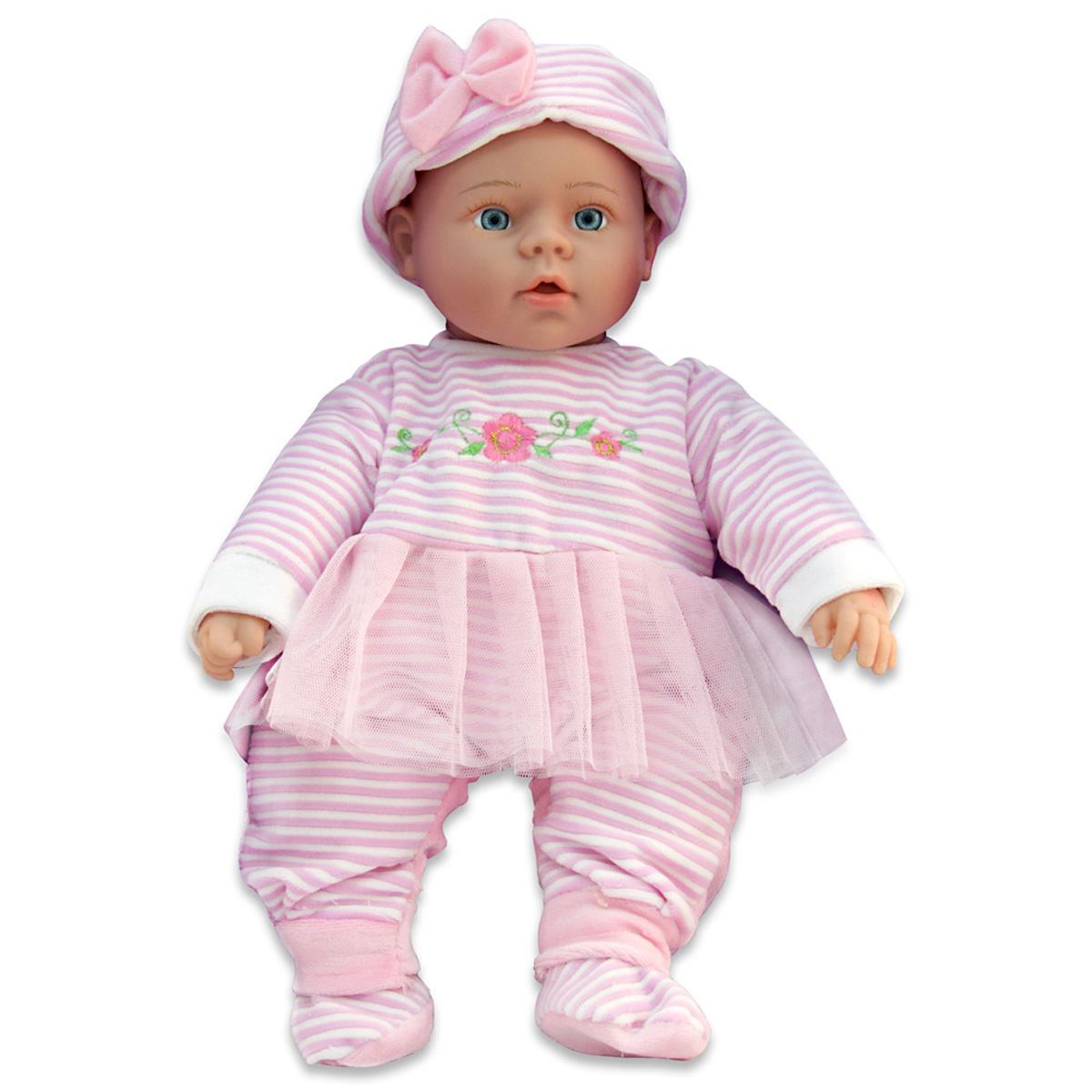 Lisa Jane Пупс озвученный цвет одежды розовый белый сумки lisa jane сумка детская