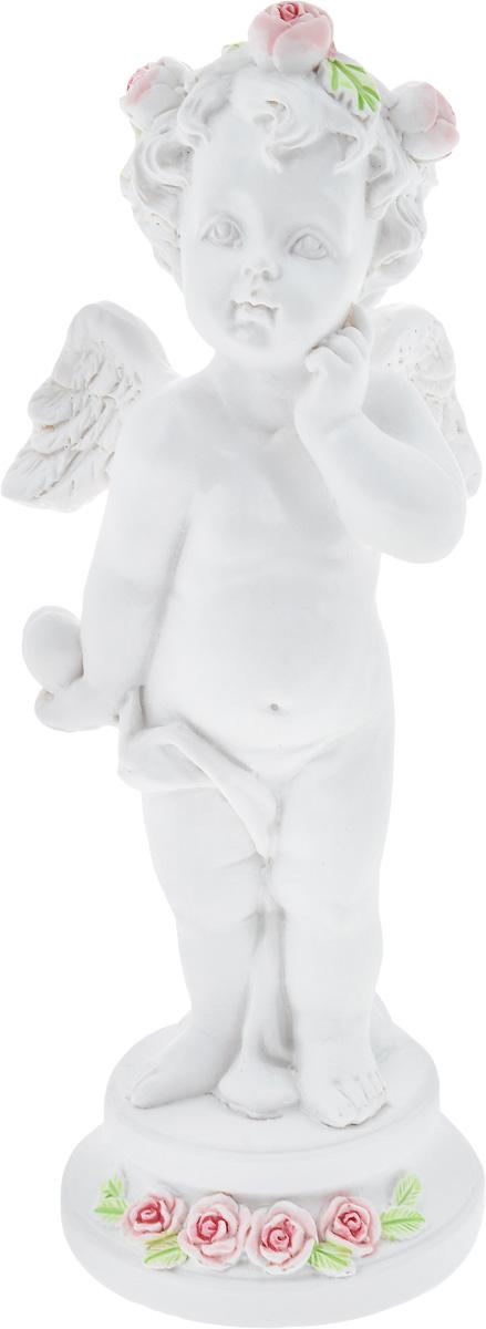 Фигурка декоративная Феникс-Презент Задумчивый ангел, высота 12,7 см40172Фигурка декоративная Феникс-Презент Задумчивый ангел, выполненная из полирезина, станет оригинальным подарком для всех любителей необычных вещей. Изделие имеет приятный дизайн. Изысканный сувенир станет прекрасным дополнением к интерьеру. Вы можете поставить фигурку в любом месте, где она будет удачно смотреться и радовать глаз.