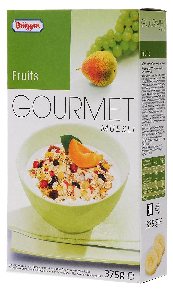 Gourmet мюсли фруктовые, 375 г овощерезка salad gourmet bradex