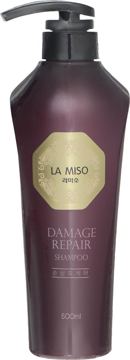 La Miso Шампунь для восстановления поврежденных волос, Damage Repair, 500 мл