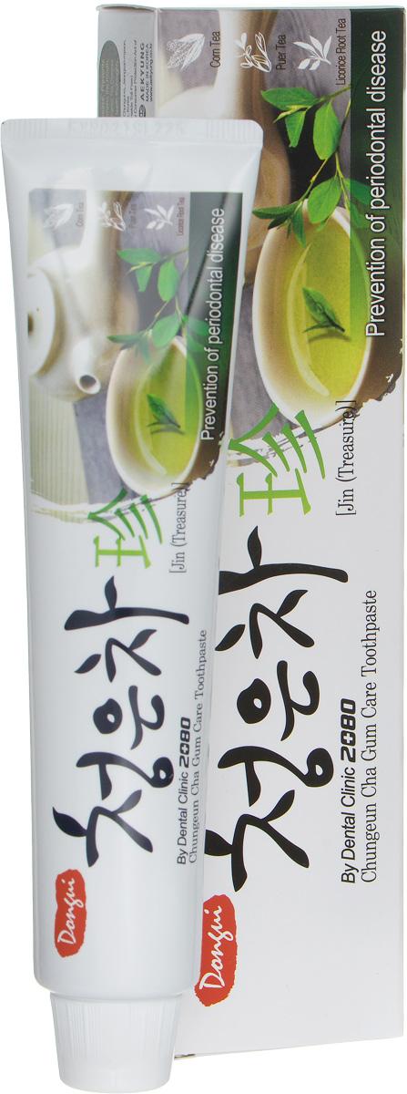 Зубная паста DC 2080 Восточный чай, 130 г114322Зубная паста 2080 Восточный чай со вкусом мяты и лечебных трав удаляет зубной налет, освежает дыхание, отбеливает, защищает от кариеса. Предупреждает заболевание десен.