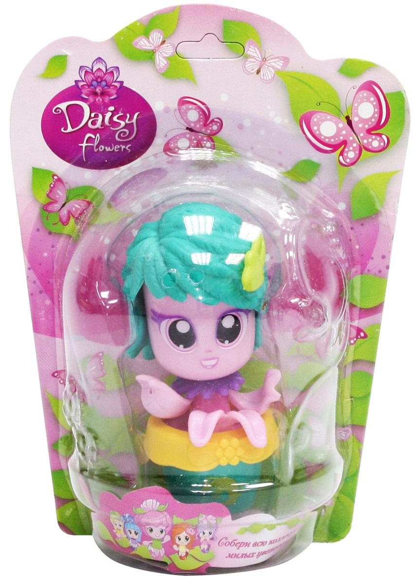 Daisy Мини-кукла Цветочек цвет розовый бирюзовый
