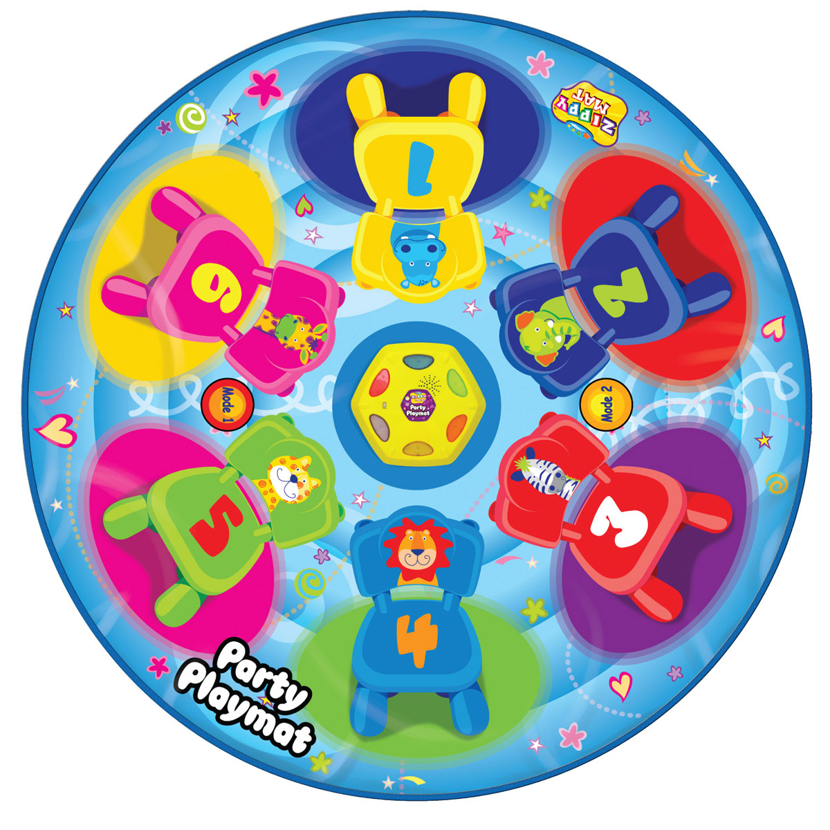 Ami&Co Игровой коврик музыкальный Вечеринка для друзей - Интерактивные игрушки