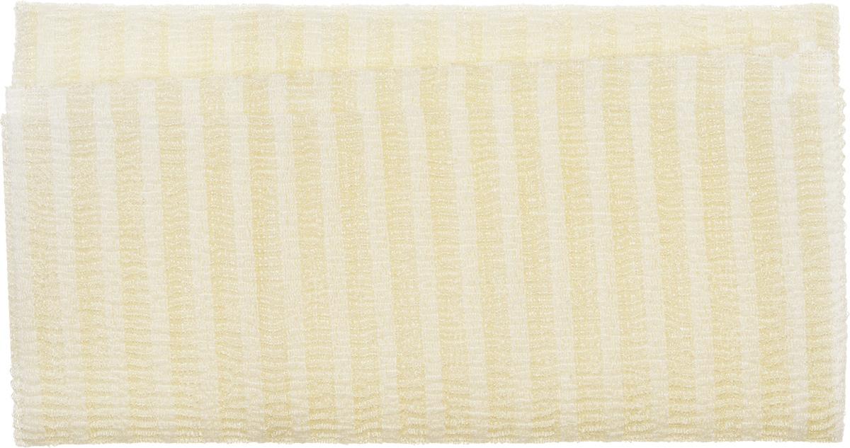 KOKUBO Мочалка нейлоновая массажная kokubo для тела комбинированная цвет бежевый226542_бежевыйКомбинированная губка для тела, позволяет тщательно промыть спину, а ее особо жесткая структура позволяет осуществить интенсивный лимфодренажный массаж и пилинг. Благодаря своей структуре губка отлично пенится тем самым снижая расход мыла или геля для душа, а так же легко выжимается и очень быстро сохнет.Размер мочалки: 28 х 100 см.