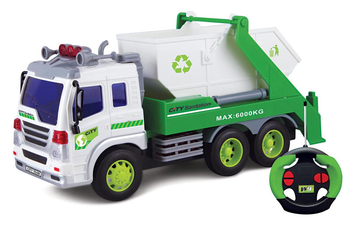 Drift Грузовик-контейнерный мусоровоз на радиоуправлении