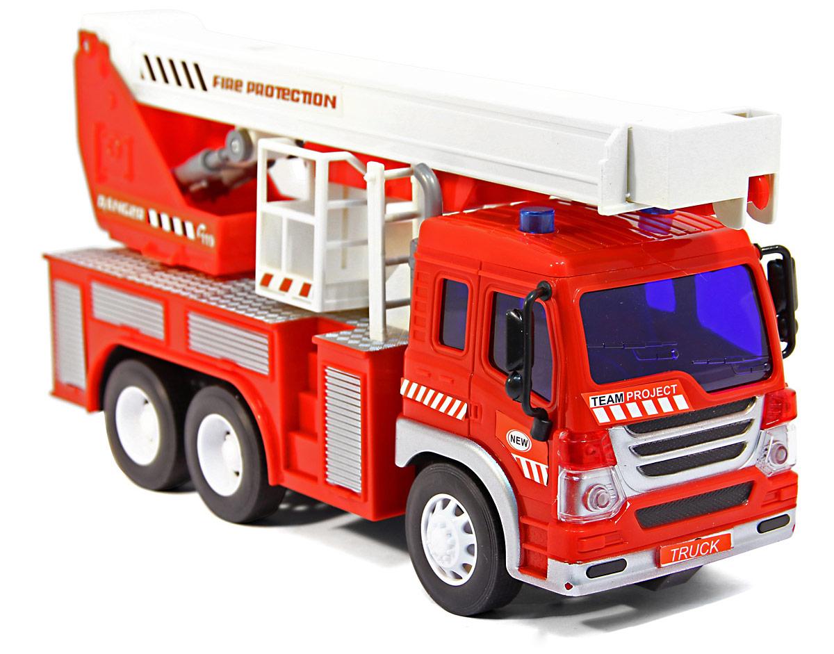 Drift Грузовик-пожарный с выдвижным краном на радиоуправлении