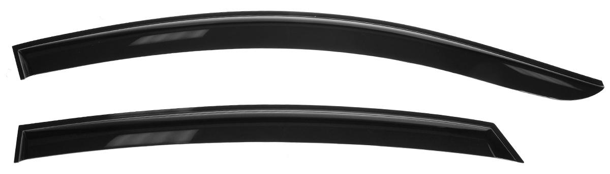 Дефлекторы окон Voron Glass Samurai, для седана Hyundai Solaris 2011-, 4 шт дефлекторы на машину
