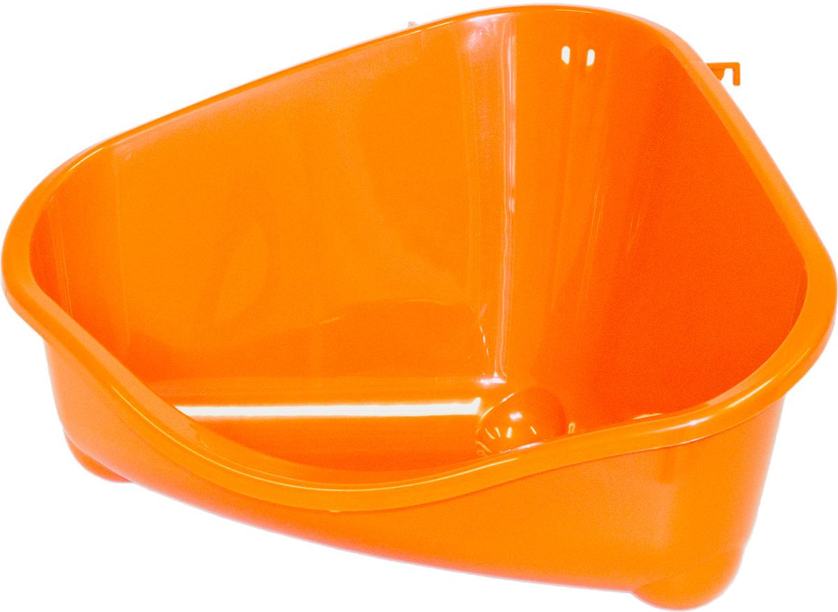 Место для грызуна Moderna, цвет: оранжевый, 49 х 34,6 х 26 см77053Удобное для питомца жизненное пространство вам поможет создать место для грызуна Moderna. Изделие выполнено из современного материала. Размер: 49 х 34,6 х 26 см.