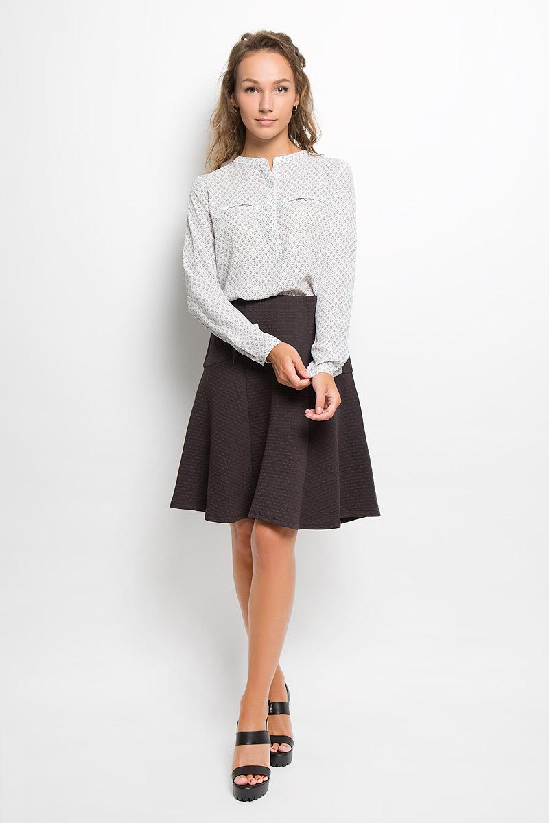 Купить Блузка женская Sela, цвет: белый. B-112/121-6321. Размер XL (50)