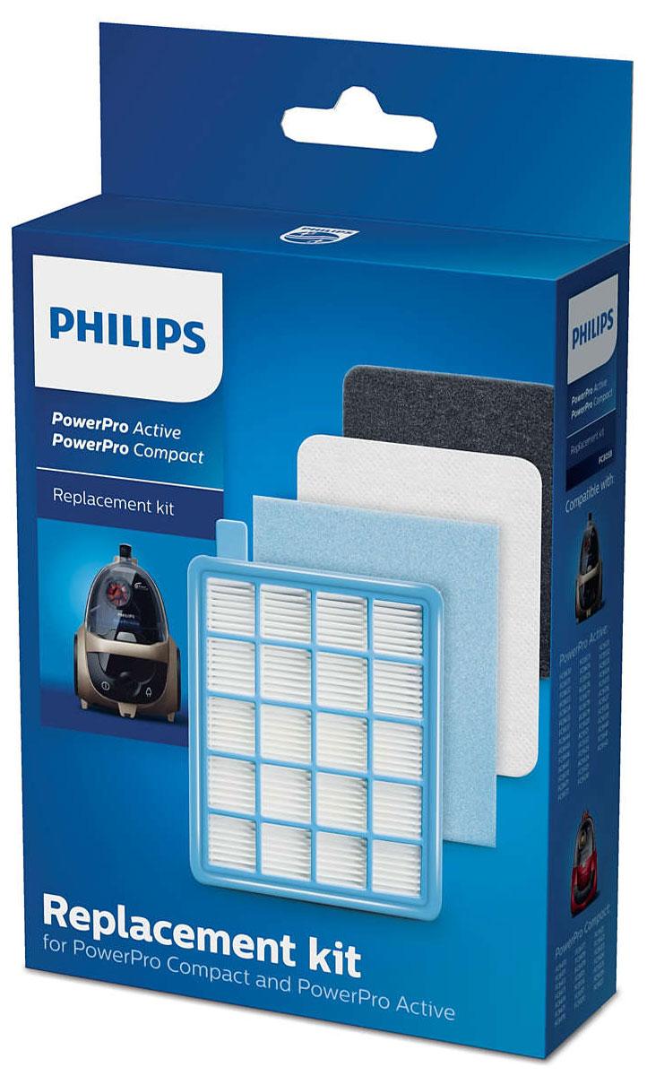 Philips FC8058/01 набор аксессуаров для пылесосов серий FC863X и FC847XFC8058/01_новый дизайнPhilips FC8058/01 - сменный комплект для PowerPro Compact и Active. Оригинальные сменные фильтры от Philips:Моющийся фильтр защиты электродвигателя EPA10В набор входит 1 моющийся фильтр защиты электродвигателя EPA10. Он обеспечивает высокий уровень фильтрации и защищает электродвигатель от повреждений, не давая мелким частицам пыли оседать на нем. Фильтр можно мыть. Заменяйте фильтр раз в год.Воздухозаборный фильтр защиты электродвигателя (губчатый)В набор входит 1 воздухозаборный губчатый фильтр защиты электродвигателя. Он дополнительно защищает электродвигатель и устанавливается рядом с фильтром защиты электродвигателя EPA. Заменяйте фильтр раз в год.Выходные губчатые фильтрыВ набор входит 2 выходных губчатых фильтра. Фильтры удерживают даже самые мельчайшие частицы пыли, поэтому в комнату поступает только чистый воздух без пыли. Заменяйте фильтр раз в год.