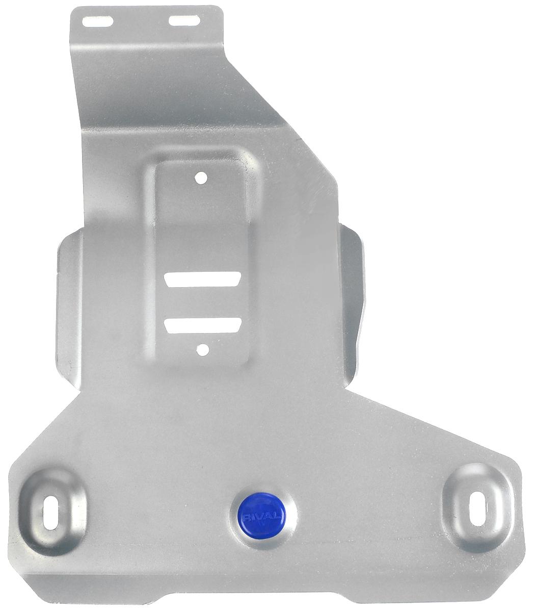 Защита редуктора Rival, для BMW X1333.0527.1Защита редуктора для BMW X1 4WD , 20i; 20d 2015-, крепеж в комплекте, алюминий 4 мм, Rival. Надежно защищают днище вашего автомобиля от повреждений, например при наезде на бордюры, а также выполняют эстетическую функцию при установке на высокие автомобили.- Толщина алюминиевых защит в 2 раза толще стальных, а вес при этом меньше до 30%.- Отлично отводит тепло от двигателя своей поверхностью, что спасает двигатель от перегрева в летний период или при высоких нагрузках.- В отличие от стальных, алюминиевые защиты не поддаются коррозии, что гарантирует срок службы защит более 5 лет.- Покрываются порошковой краской, что надолго сохраняет первоначальный вид новой защиты и защищает от гальванической коррозии.- Глубокий штамп дополнительно усиливает конструкцию защиты.- Подштамповка в местах крепления защищает крепеж от срезания.- Технологические отверстия там, где они необходимы для смены масла и слива воды, оборудованные заглушками, надежно закрепленными на защите.Уважаемые клиенты!Обращаем ваше внимание, на тот факт, что защита имеет форму, соответствующую модели данного автомобиля. Фото служит для визуального восприятия товара.